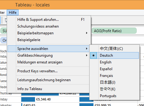 Localisation in Tableau - The Information Lab