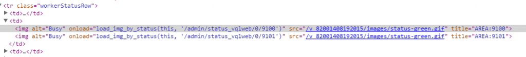 Tableau Server HTML