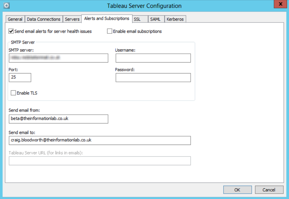 Monitoring Your Tableau Server Using Pulseway The Information Lab