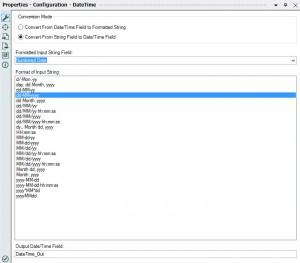 DateTime Configuration