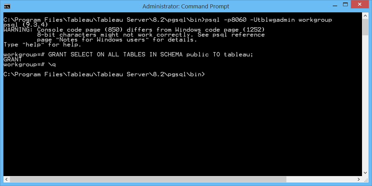 Exploring the Tableau Server database - The Information Lab