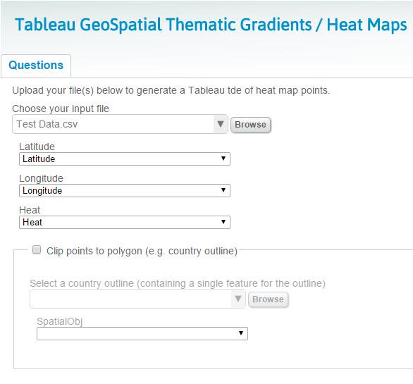 Geospatial Heat Maps in Tableau via Alteryx - The Information Lab
