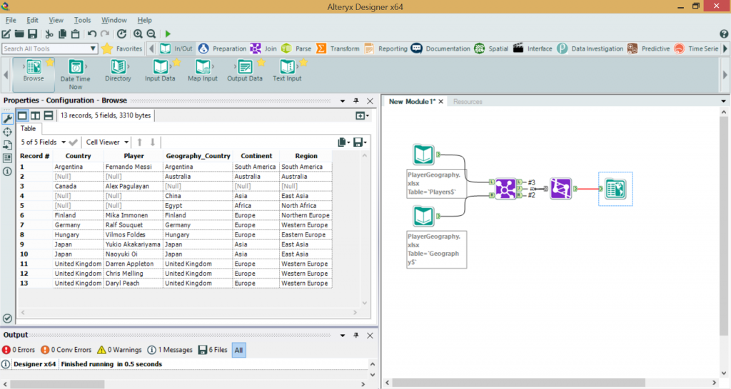 Alteryx full outer join