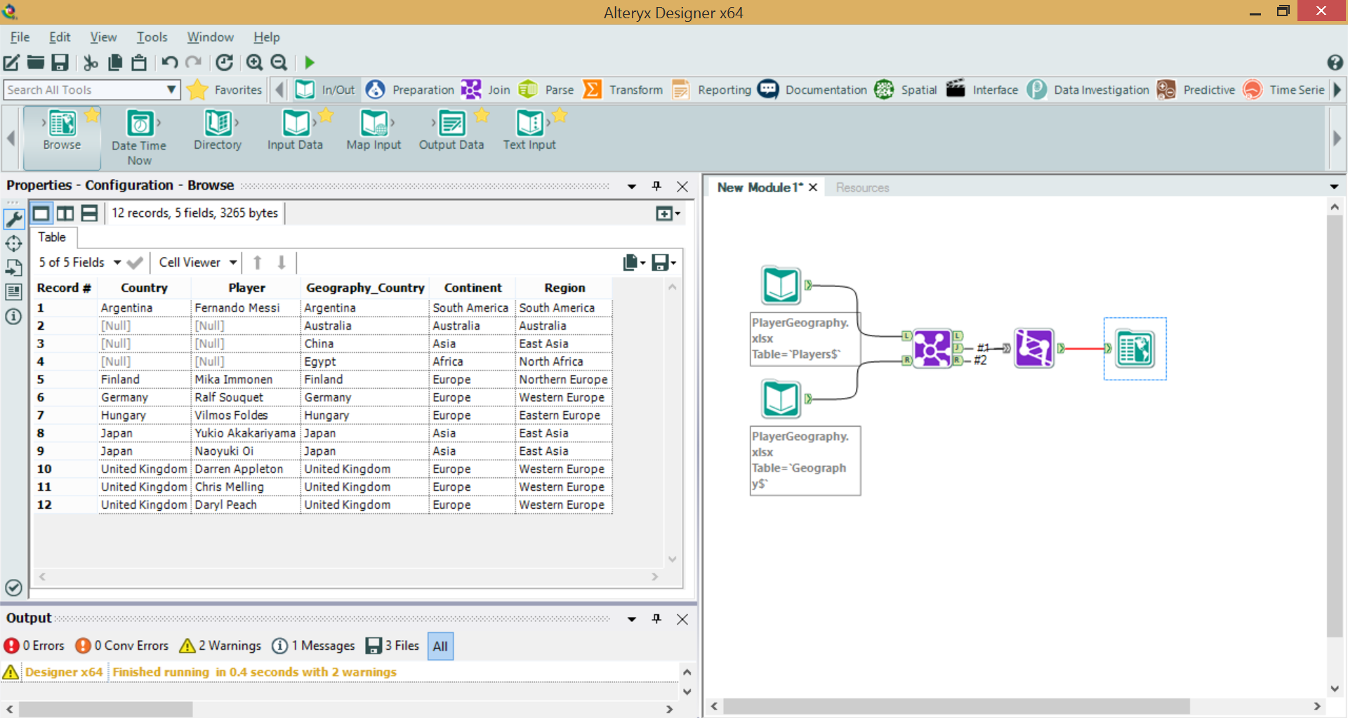 Joining data tables in Tableau and Alteryx - The Information Lab