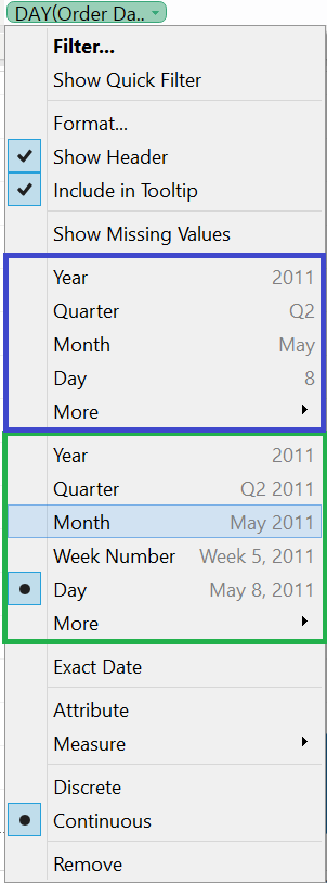 Month(Order Date)