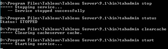 How to clear your Tableau Server cache - The Information Lab