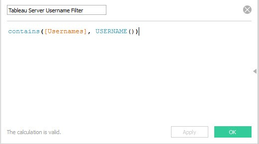 How to Scale Tableau User Filters in 5 Steps - The Information Lab