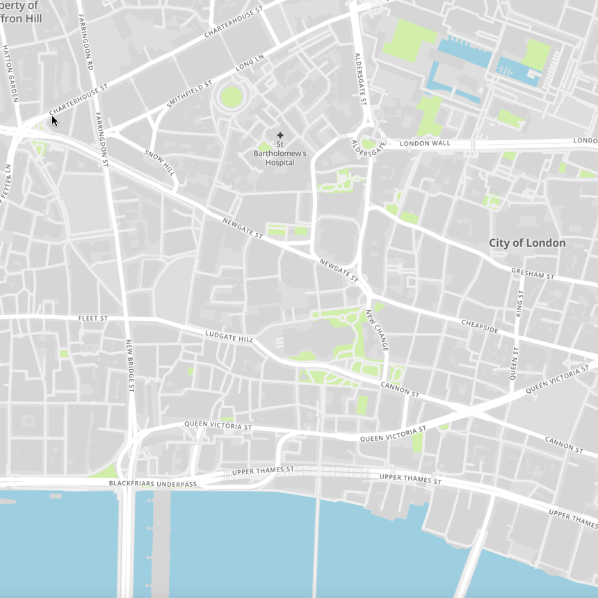 Basic Map Of London.Ultimate Mapping Guide Part 2 Styling Mapbox Maps The