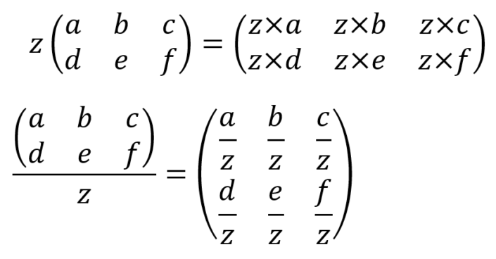 Introduction to matrix calculations - The Information Lab