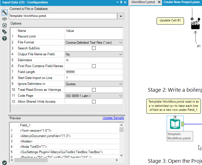 How to Create Template Project Folders with Alteryx