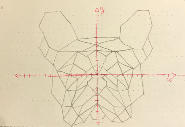 Drawing Lines Of Symmetry On Shapes Worksheet : Polygon pop art the information lab
