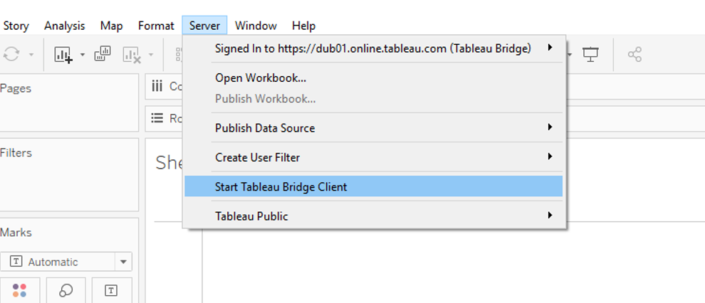How to use Tableau Bridge - The Information Lab