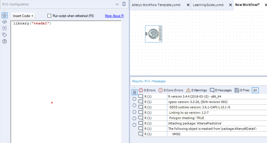 Installing R Packages, both on Alteryx Designer and on an