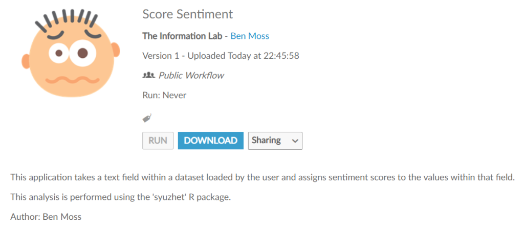 Leveraging R to perform Sentiment Analysis in Alteryx - The