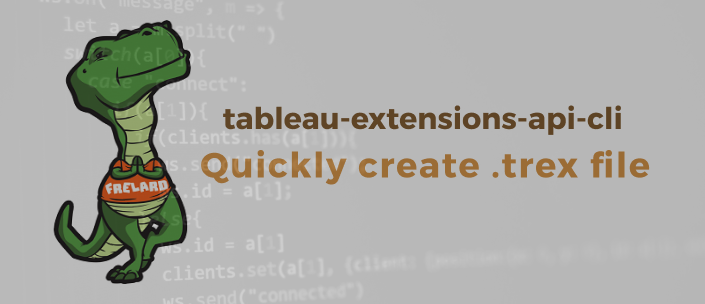 How to quickly scaffold a Tableau Extensions Manifest file